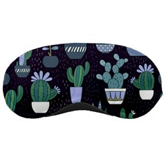 Cactus Pattern Sleeping Masks