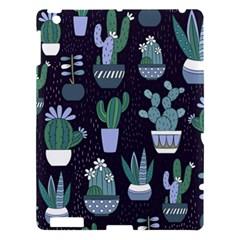 Cactus Pattern Apple Ipad 3/4 Hardshell Case