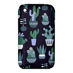 Cactus Pattern Iphone 3s/3gs