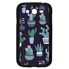 Cactus Pattern Samsung Galaxy Grand Duos I9082 Case (black)