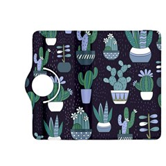 Cactus Pattern Kindle Fire Hdx 8 9  Flip 360 Case