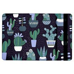 Cactus Pattern Ipad Air Flip