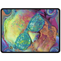 Holi Fleece Blanket (large)