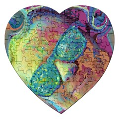 Holi Jigsaw Puzzle (heart)