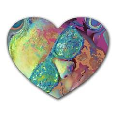 Holi Heart Mousepads