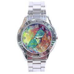 Holi Stainless Steel Analogue Watch