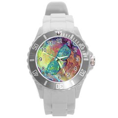Holi Round Plastic Sport Watch (l)