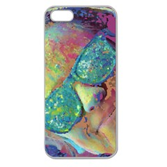 Holi Apple Seamless Iphone 5 Case (clear)