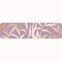 Rose Gold, Asian,leaf,pattern,bamboo Trees, Beauty, Pink,metallic,feminine,elegant,chic,modern,wedding Large Bar Mats