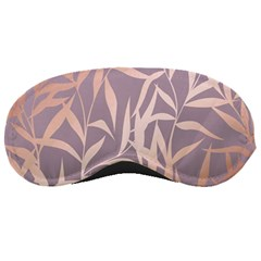 Rose Gold, Asian,leaf,pattern,bamboo Trees, Beauty, Pink,metallic,feminine,elegant,chic,modern,wedding Sleeping Masks
