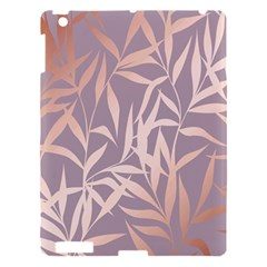 Rose Gold, Asian,leaf,pattern,bamboo Trees, Beauty, Pink,metallic,feminine,elegant,chic,modern,wedding Apple Ipad 3/4 Hardshell Case