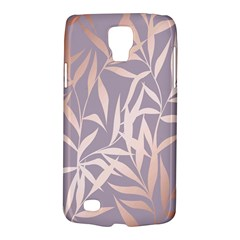 Rose Gold, Asian,leaf,pattern,bamboo Trees, Beauty, Pink,metallic,feminine,elegant,chic,modern,wedding Galaxy S4 Active