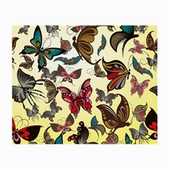 Colorful Butterflies Small Glasses Cloth (2 Side)