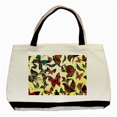 Colorful Butterflies Basic Tote Bag (two Sides)