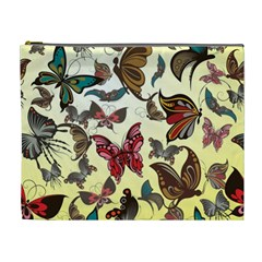 Colorful Butterflies Cosmetic Bag (xl)
