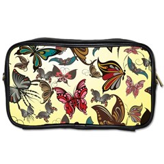 Colorful Butterflies Toiletries Bags