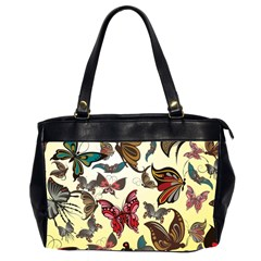 Colorful Butterflies Office Handbags (2 Sides)