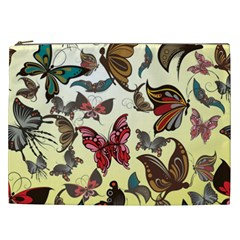 Colorful Butterflies Cosmetic Bag (xxl)