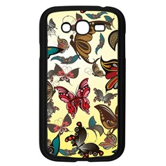 Colorful Butterflies Samsung Galaxy Grand Duos I9082 Case (black)