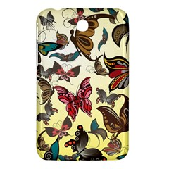 Colorful Butterflies Samsung Galaxy Tab 3 (7 ) P3200 Hardshell Case