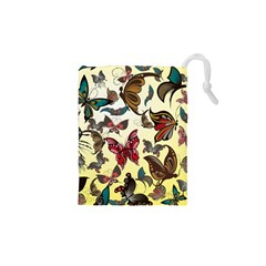 Colorful Butterflies Drawstring Pouches (xs)