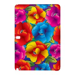 Neon Colored Floral Pattern Samsung Galaxy Tab Pro 12 2 Hardshell Case