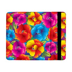 Neon Colored Floral Pattern Samsung Galaxy Tab Pro 8 4  Flip Case