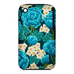 Light Blue Roses And Daisys Iphone 3s/3gs