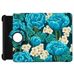 Light Blue Roses And Daisys Kindle Fire Hd 7