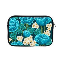 Light Blue Roses And Daisys Apple Ipad Mini Zipper Cases