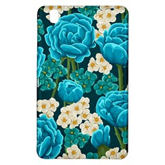 Light Blue Roses And Daisys Samsung Galaxy Tab Pro 8 4 Hardshell Case