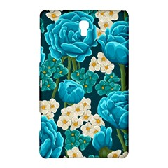 Light Blue Roses And Daisys Samsung Galaxy Tab S (8 4 ) Hardshell Case