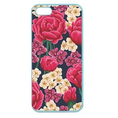 Pink Roses And Daisies Apple Seamless Iphone 5 Case (color)
