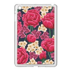 Pink Roses And Daisies Apple Ipad Mini Case (white)