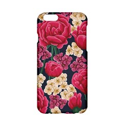 Pink Roses And Daisies Apple Iphone 6/6s Hardshell Case