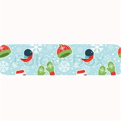 Winter Fun Pattern Large Bar Mats