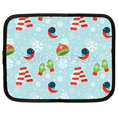 Winter Fun Pattern Netbook Case (xxl)
