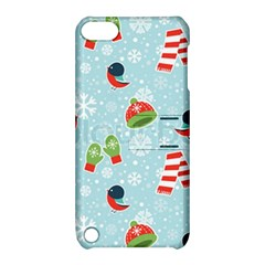 Winter Fun Pattern Apple Ipod Touch 5 Hardshell Case With Stand