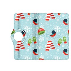 Winter Fun Pattern Kindle Fire Hdx 8 9  Flip 360 Case