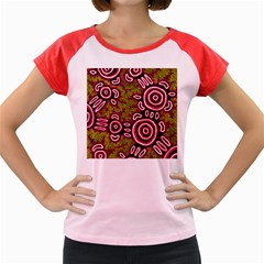 Aboriginal Art   You Belong Women s Cap Sleeve T Shirt
