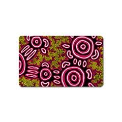 Aboriginal Art   You Belong Magnet (name Card)
