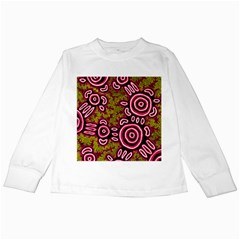 Aboriginal Art   You Belong Kids Long Sleeve T Shirts