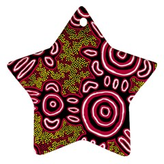 Aboriginal Art   You Belong Star Ornament (two Sides)