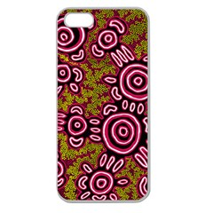 Aboriginal Art   You Belong Apple Seamless Iphone 5 Case (clear)
