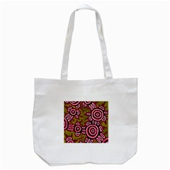 Aboriginal Art   You Belong Tote Bag (white)