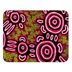 Aboriginal Art   You Belong Double Sided Flano Blanket (large)