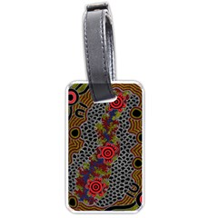 Aboriginal Art   Campsite Luggage Tags (one Side)