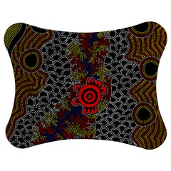 Aboriginal Art   Waterholes Jigsaw Puzzle Photo Stand (bow)