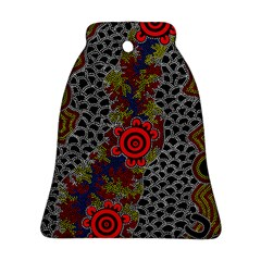 Aboriginal Art   Meeting Places Ornament (bell)