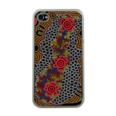 Aboriginal Art   Meeting Places Apple Iphone 4 Case (clear)